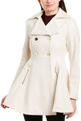 Laundry by Shelli Segal Melton Wool-Blend Coat