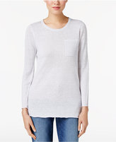 Eileen Fisher Organic Linen Tunic, Regular & Petite
