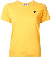 Comme des Garcons black heart T-shirt - women - Cotton - L