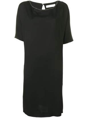 Fabiana Filippi Short-Sleeved Shift Dress