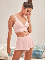 Victoria's Secret Victorias Secret Ribbed Sleep Short