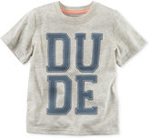 Carter's Dude-Print Cotton T-Shirt, Little Boys (2-7)
