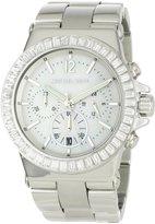 Michael Kors Women's MK5411 Dylan Glitz Chronograph MOP Dial Watch