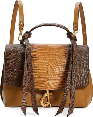 Rebecca Minkoff Medium Stella Convertible Leather Backpack