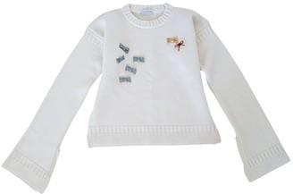 J.W.Anderson Ecru Wool Knitwear