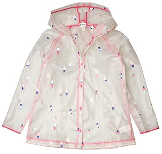 Hatley Cool Treats Clear Swing Raincoat (Toddler/Little Kids/Big Kids) (Natural) Girl's Clothing
