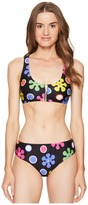 Moschino Sixties Flower Sport Bikini Set Women's Swimwear Sets