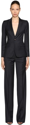 DSQUARED2 Pinstriped Virgin Wool Suit