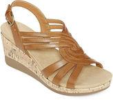 Yuu Greta Strap Wedge Sandals