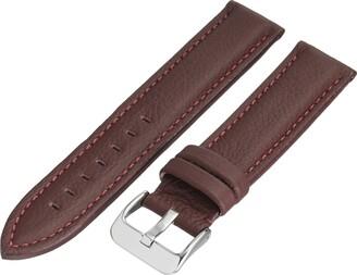 Hadley Roma Hadley-Roma MS2044RA 180 18mm Leather Calfskin Black Watch Strap