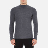 Hugo Smud Ribbed Jumper Grey