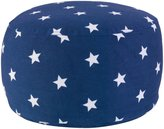 Kid Kraft Round Pouf- Navy with Stars