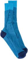 Issey Miyake houndstooth pattern socks