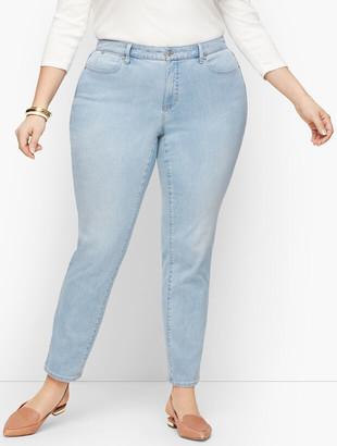 Talbots Plus Size Exclusive Slim Ankle Jeans - Skillman Wash