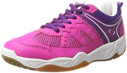 Coach Bruetting Women's Indoor Fitness Shoes, Pink/Lila/Weiss, 5 UK