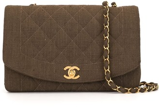Chanel Pre Owned 1992 Diana shoulder bag
