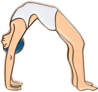 Make Heads Turn Enamel Pin Bridge Pose