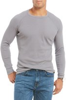 Daniel Cremieux Jeans Solid Long-Sleeve Waffle Tee