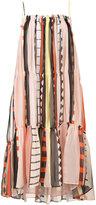 Apiece Apart striped dress - women - Silk - 0