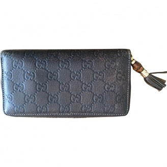 Gucci Brown Leather Wallets