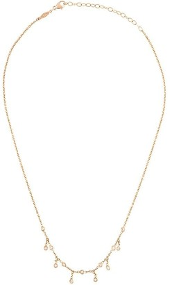 Jacquie Aiche 14kt rose gold 1/2 Shaker necklace