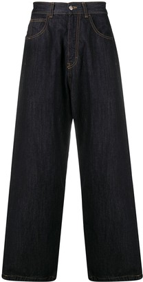 Societe Anonyme High-Waisted Wide Leg Jeans