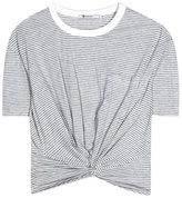Alexander Wang Knotted cotton top