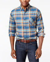 Weatherproof Vintage Men's Plaid Flannel Shirt, Classic Fit