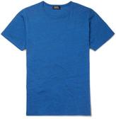 A.P.C. Slim-Fit Mélange Cotton-Jersey T-Shirt