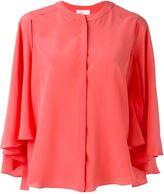 Capucci ruffle sleeve shirt