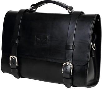 The Dust Company Mod 119 Briefcase in Cuoio Black