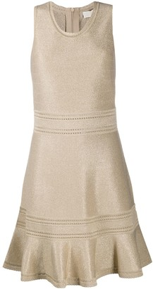 MICHAEL Michael Kors Metallic-Knit Dress