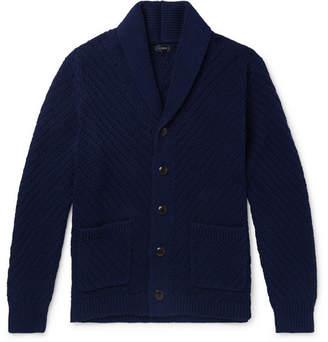 J.Crew Shawl-Collar Ribbed Cotton Cardigan