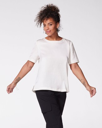 Vince Camuto Hammered Satin Top