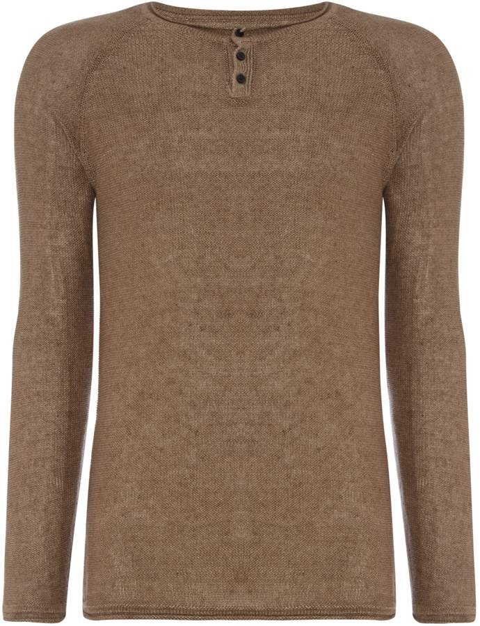 Replay Men's Knitted Linen Sweater
