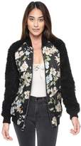 Juicy Couture Route 1 Bloom Bomber Jacket