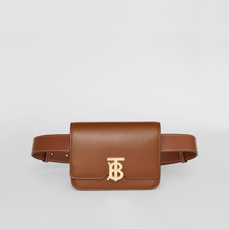 Burberry Belted Leather TB Bag