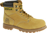 Caterpillar CAT Second Shift Mens Leather Steel-Toe Work Boots