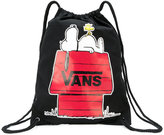 Vans Snoopy print drawstring backpack - unisex - Cotton - One Size
