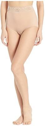 Bali Lacy Skamp Brief (White) Women's Underwear