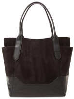 Frye Paige Suede & Leather Tote