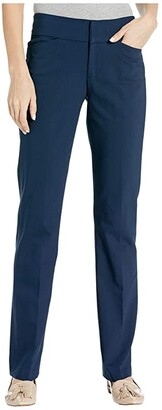 Liverpool Graham Bootcut Trousers in London Navy (London Navy) Women's Casual Pants