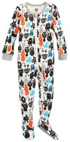 Tea Collection Infant Boy's Monsterrific Fitted One-Piece Pajamas