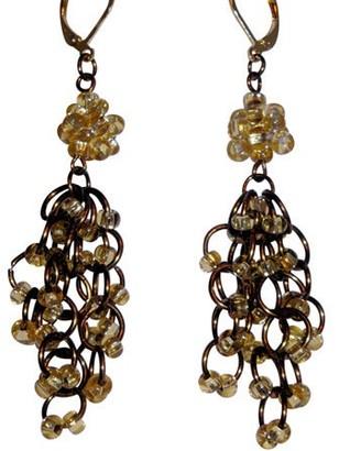 Heavenly Beads & More Handmade Chandelier Chain Maille Earrings