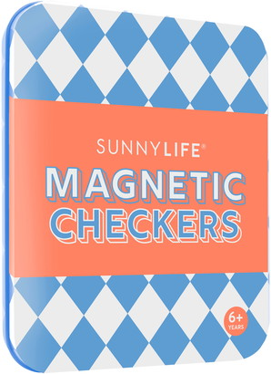 Sunnylife Magnetic Checkers Game