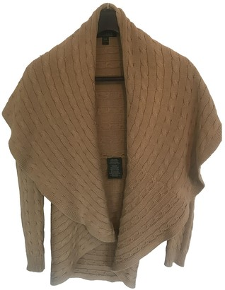 Lauren Ralph Lauren Beige Cotton Knitwear for Women