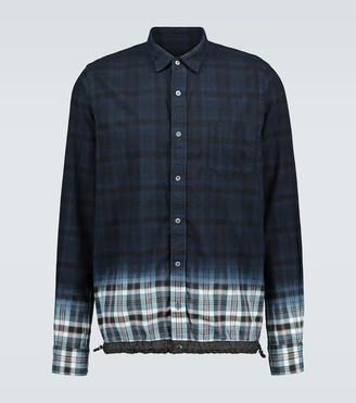 Sacai Madras checked shirt