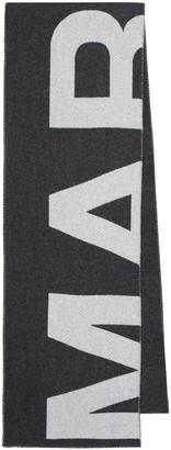 Isabel Marant Loli Logo wool-blend scarf