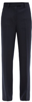 Cefinn Terrence Twill Wide-leg Trousers - Navy