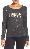 Spiritual Gangster Women's Constellation Savasana Sweatshirt